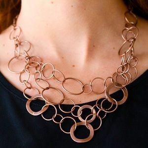 Main Street Mechanics - Copper Necklace